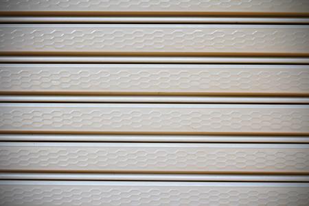 shutter door: Shutter door or rolling door pattern, gray color