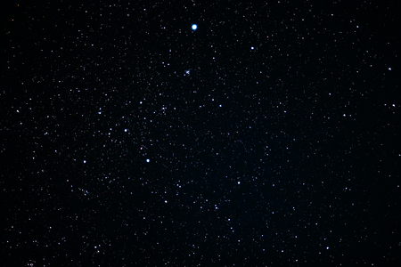 Canis Major constellation. Star cluster messier 41 Stock Photo