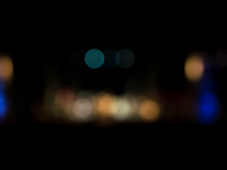 Abstract defocused colorful light bokeh. You can drastically alter the look and feel of any photo. Standard-Bild - 116539917