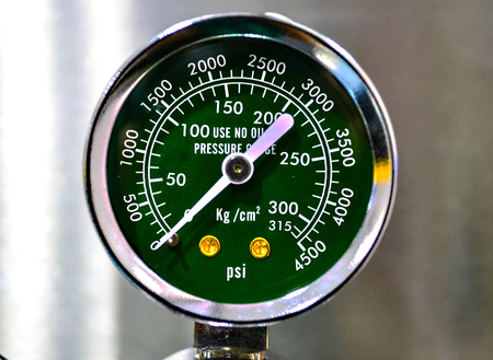 pressure gauge: Pressure gauge use measurement gas in tank