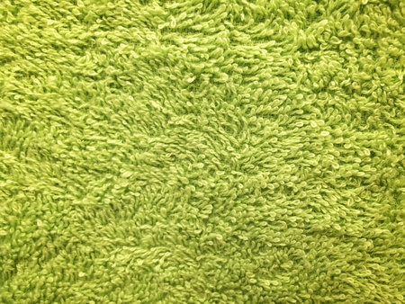 colour: Green towel background and wallpaper Stock Photo