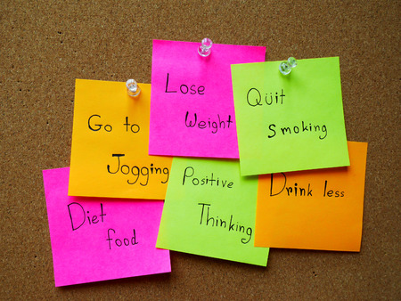 Post note for healthy in my life