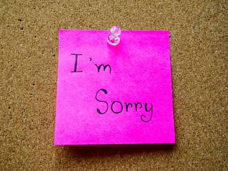 I'm sorry in post note on wooden board