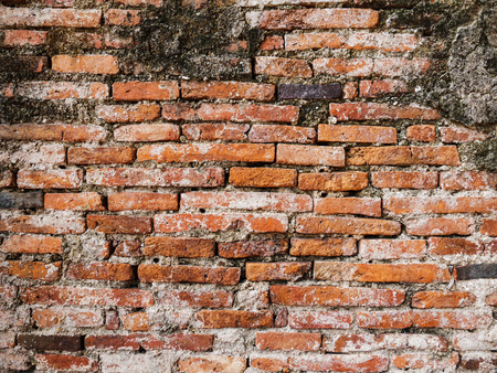 Old dirty brick wall background texture