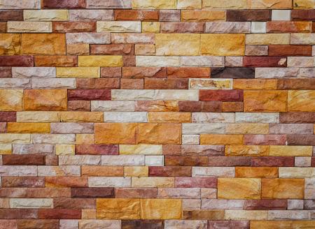 Stone brick wall backgound texture