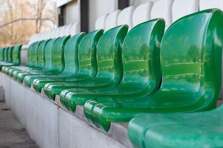 Empty seats in the sports stadium 2