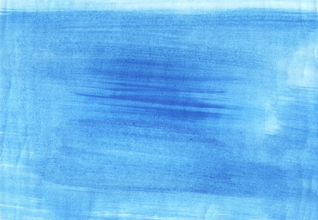 creative potential: Blue watercolor brush strokes, may be used as background