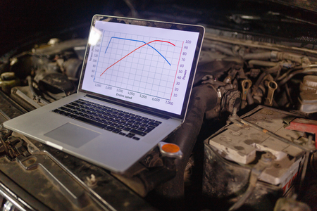 Laptop torque figures and horsepower is the engine of the vehicle for diagnostics and configuration. Diagnostic machines is ready for use with the car.