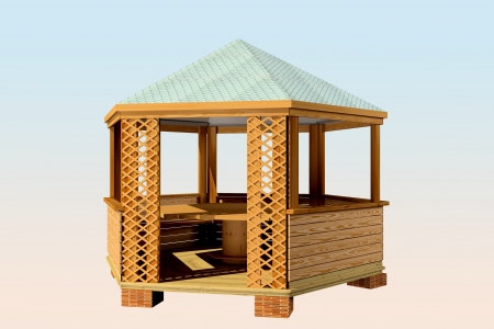 House Grill 3d