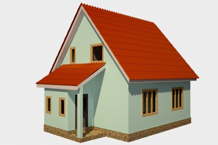 House 3d Stock Photo - 15738898