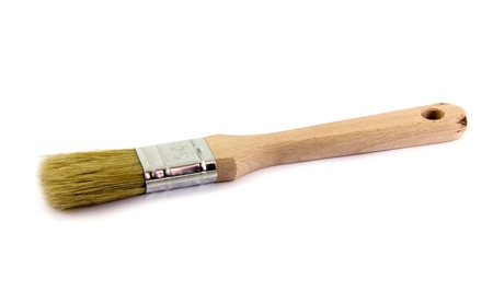 Brush for painting Stock Photo