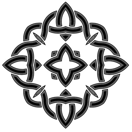 Celtic pattern, Irish culture, vector, it can be used as a t-shirt