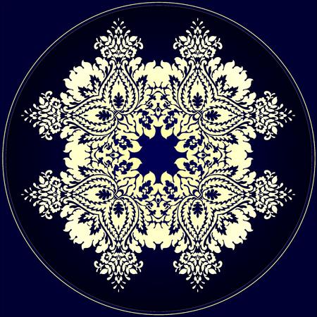 Ein großes Muster für Tapeten, Kleidung, Porzellan