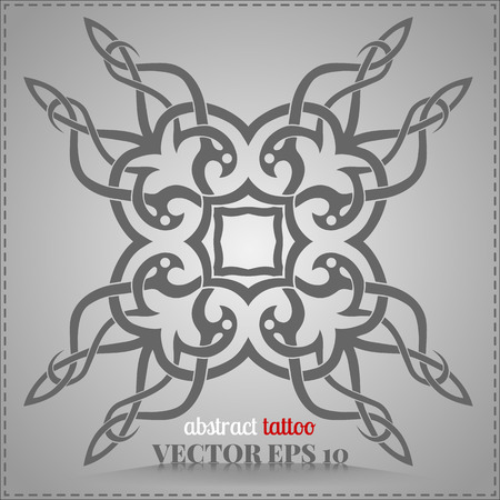 indelible: Celtic pattern, personalized, abstract collection tattoo element for your creativity Illustration