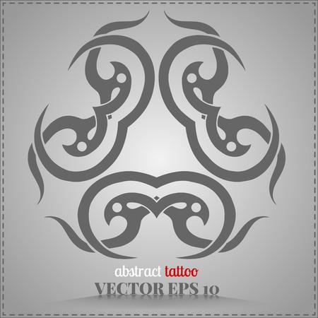 keltische muster: Celtic Muster, personalisiert, abstrakt Sammlung Tattoo Element für Ihre Kreativität Illustration