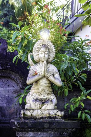 Statue Indonesia, Bali, Ubud, religion, Buddhism. 11012017 08.30 am