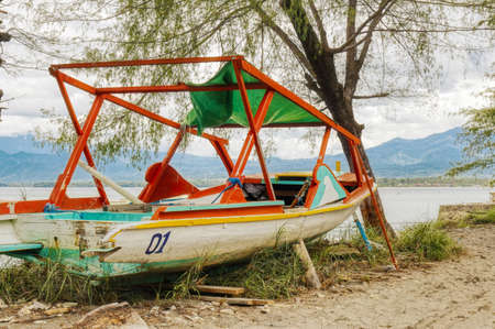 Gili Air Island in the Indian Ocean. 01/03/2017 The vicinity of the Ferry pier. Editorial