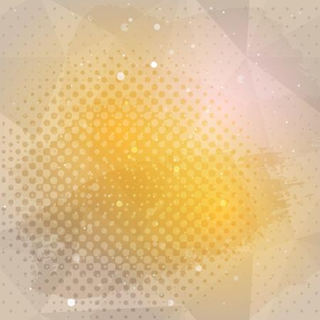 Craft grunge de fondo de papel abstracto en color beige y naranja