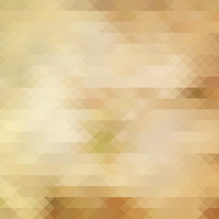 sand background: Geometric triangle mosaic blur vector sand background, design backdrop Illustration