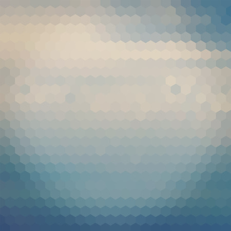 pale: Pale blue color sky hexagon geometric background, design backdrop