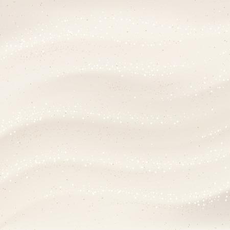 Wit zand vector achtergrond illustratie voor het ontwerp Stock Illustratie
