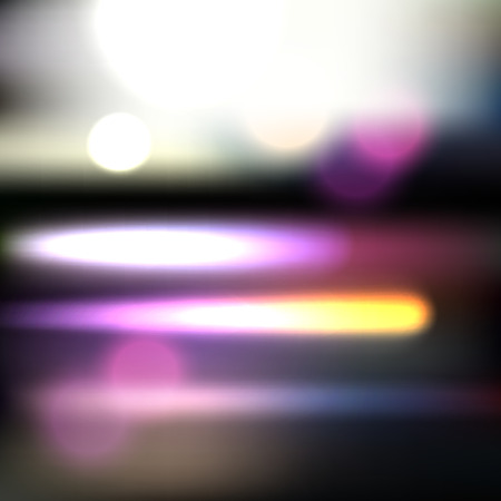 blurred motion: Abstract blurred background with purple motion lights Illustration