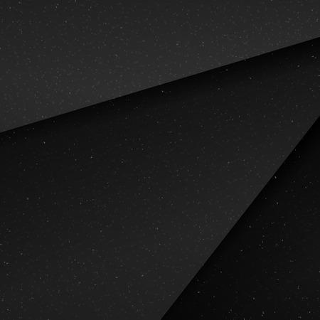 Donkere geometrische structuur moderne lege achtergrond Stock Illustratie