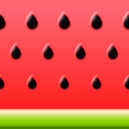Vector watermeloen heldere vector achtergrond