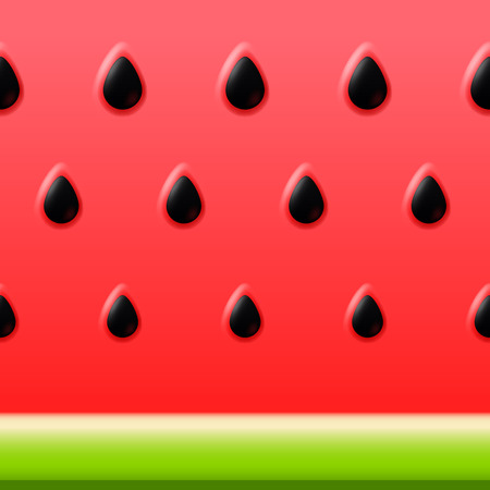 Vector watermelon bright vector background Ilustração