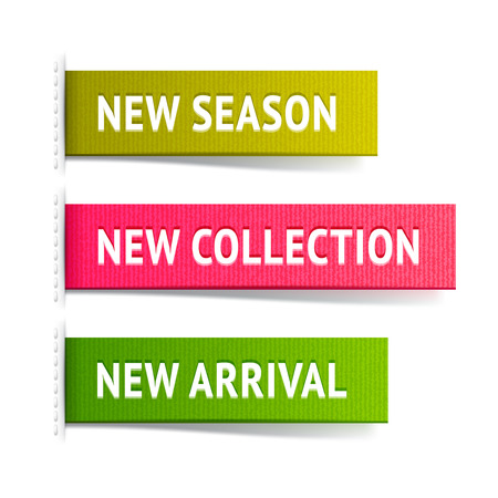fabric label: New fabric label set