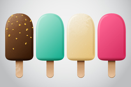 ice: ice cream set