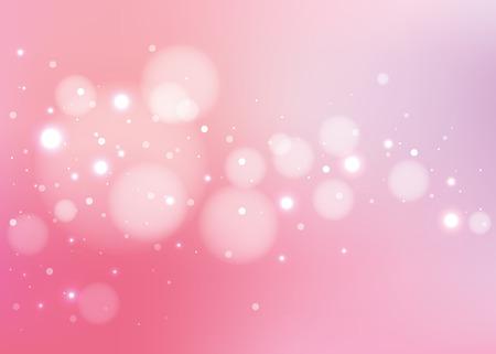 光ると抽象的なピンクの背景  イラスト・ベクター素材
