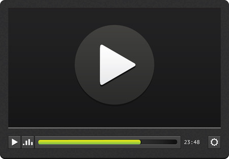 mp3 player: Video player application