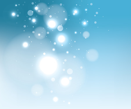 Blue snow background, EPS10 file with transparency effects