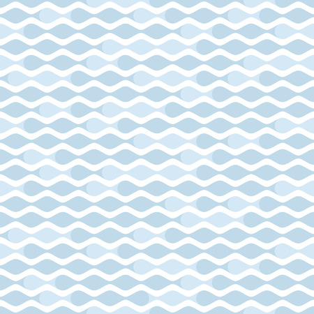 repetition: Simple pale blue wave seamless pattern