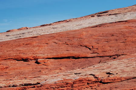 Red sandstone rock formations background, Valley of Fire State park, Nevada