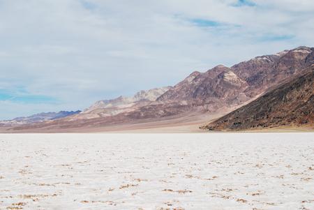 Death Valley National Park, salt flats beautiful landscape, badwater