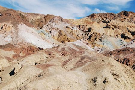 Artist's Palette in Death Valley National Park, USA