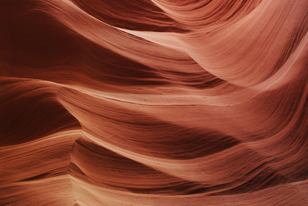 Bright texture of Antelope Canyon, Page, Arizona, USA