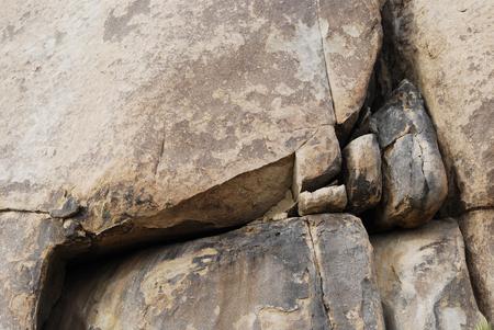 Rock formation close up background, California, USA Stok Fotoğraf