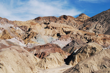 Artists Palette in Death Valley National Park, USA