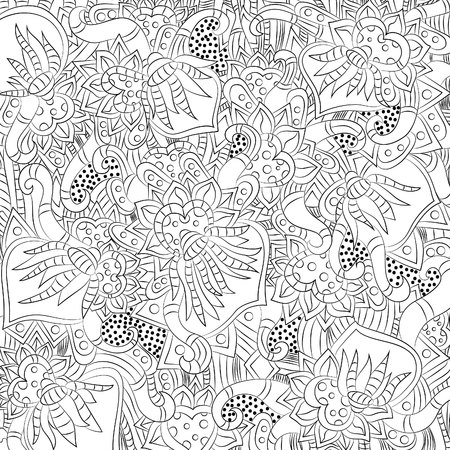 Abstract floral pattern.