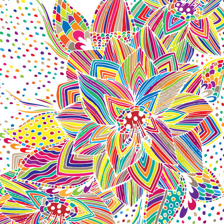 Psychedelic pattern, for meditation, soothing, twisting elements