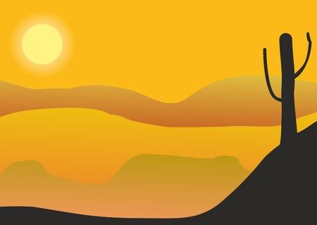 砂漠のアイコン。