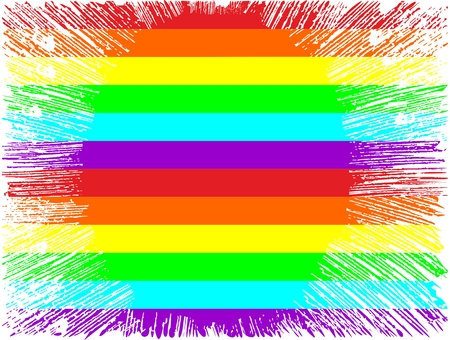 LGBT rainbow background multicolored with grange texture