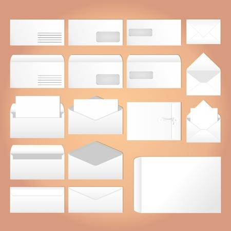 Different Envelopes for letters Reklamní fotografie - 90765408