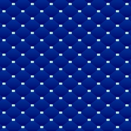 Abstract pattern of dark blue squares Ilustração