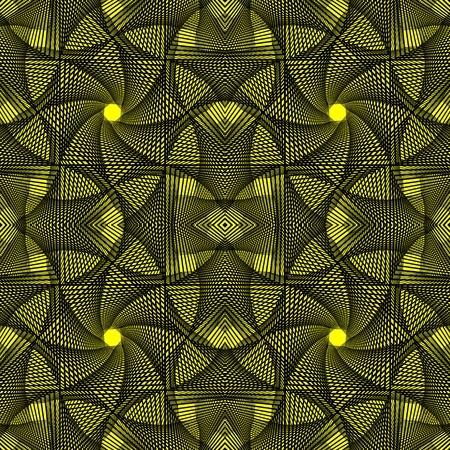 추상 검은 색과 노란색 배경