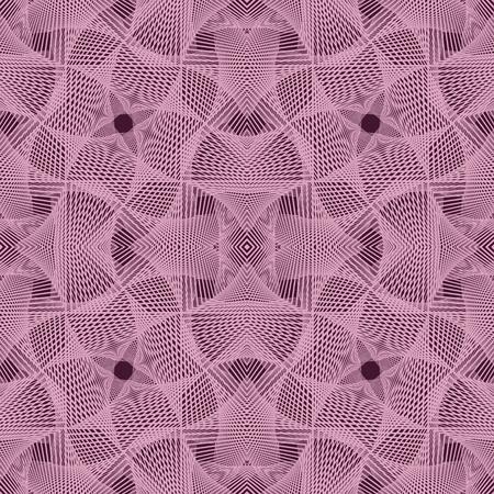 Abstract roze gehaakt patroon.