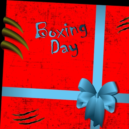 A boxing day Фото со стока - 91344698